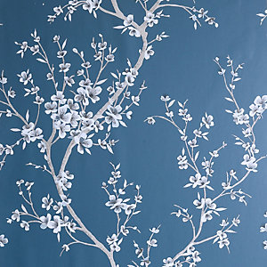 Arthouse Oriental Trail Teal Wallpaper 10.05m x 53cm