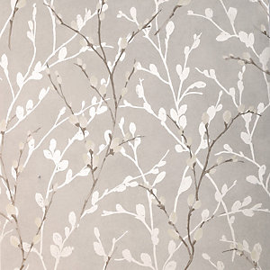 Arthouse Willow Grey Wallpaper 10.05m x 53cm