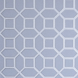 Arthouse Luxe Origin Soft Blue Wallpaper 10.05m x 53cm