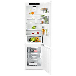 AEG CustomFlex Fridge Freezer with SpinView A++ SCE819E7TS