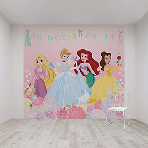 Princess Party Wall Mural 3m x 2.8m
