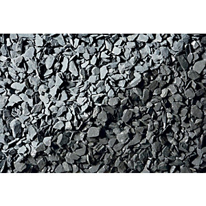 Image of Wickes Blue Slate Chippings - Major Bag