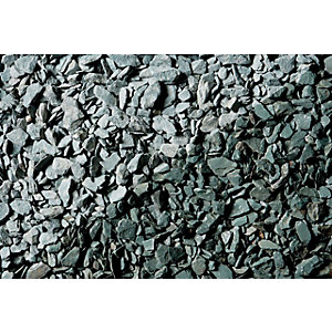 Image of Wickes Decorative Green Slate Chippings - Major Bag