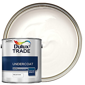 Dulux Trade Undercoat Paint - Brilliant White 2.5L