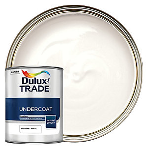 Dulux Trade Undercoat Paint - Brilliant White 1L