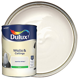 Dulux - Jasmine White - Silk Emulsion Paint 5L