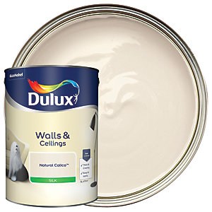 Dulux - Natural Calico - Silk Emulsion Paint 5L