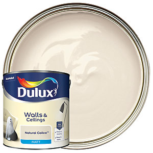 Dulux - Natural Calico - Matt Emulsion Paint 2.5L