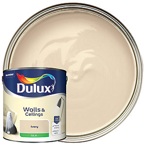 Dulux - Ivory - Silk Emulsion Paint 2.5L