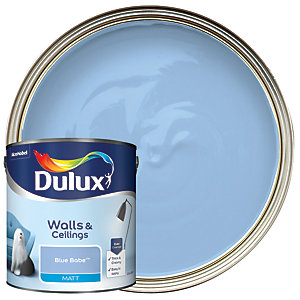 Dulux - Blue Babe - Matt Emulsion Paint 2.5L