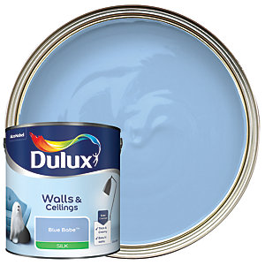 Dulux - Blue Babe - Silk Emulsion Paint 2.5L