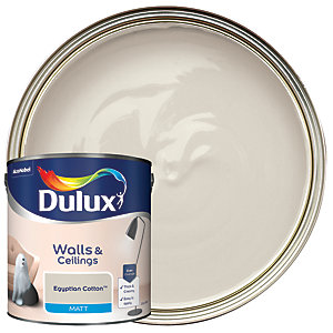 Dulux - Egyptian Cotton - Matt Emulsion Paint 2.5L