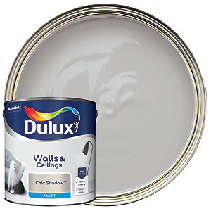 Dulux - Chic Shadow - Matt Emulsion Paint 2.5L