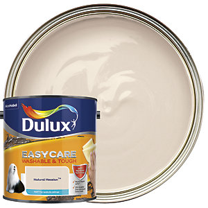 Dulux Easycare Washable & Tough - Natural Hessian - Matt Emulsion Paint 2.5L