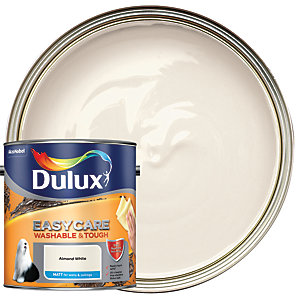 Dulux Easycare Washable & Tough - Almond White - Matt Emulsion Paint 2.5L