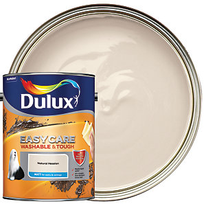 Dulux Easycare Washable & Tough - Natural Hessian - Matt Emulsion Paint 5L
