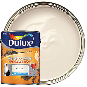 Dulux Easycare Washable & Tough - Natural Calico - Matt Emulsion Paint 5L