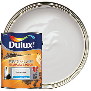 Dulux Easycare Washable & Tough - Polished Pebble - Matt Emulsion Paint 5L