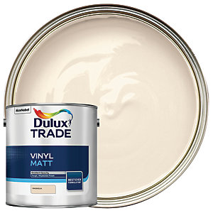 Dulux Trade Vinyl Matt Emulsion Paint - Magnolia 2.5L