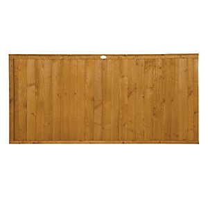 Forest Garden Dip Treated Closeboard Fence Panel - 6x3ft Multi Packs