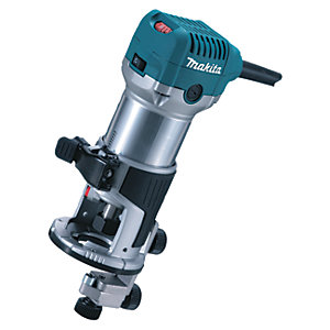 Makita RT0700CX4/1 1/4in Corded Fixed Base Router 110V - 710W