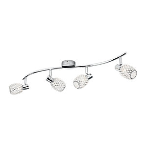 Philips Deltoid Polished Chrome 4 Bar Spotlight - G9