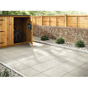 Marshalls Richmond Smooth Natural Paving Slab 450 x 450 x 32 mm