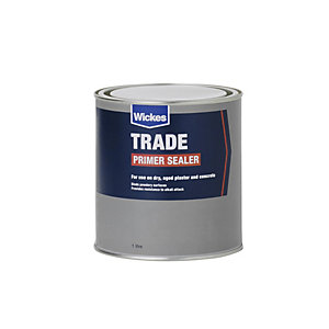 Wickes Trade Primer Sealer 1L