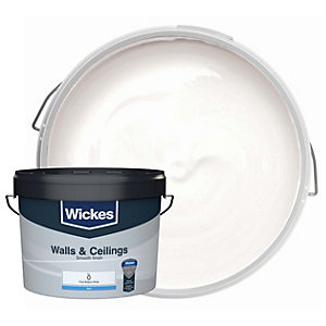 Wickes Vinyl Emulsion Pure Brilliant White 10L