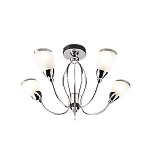 Wickes Abora Semi Flush Ceiling Light