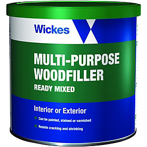 Wickes Multi-Purpose Wood Filler - 600ml