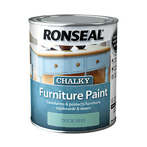 Ronseal Furniture Paint - Duck Egg 750ml