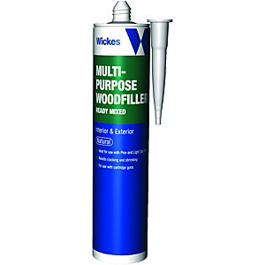Wickes Multi-Purpose Wood Filler - Natural 310ml
