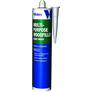 Wickes Multi-Purpose Wood Filler - Medium 310ml