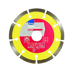 Wickes Diamond Cutting Blade - 115mm