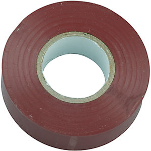 Wickes Electrical Insulation Tape - Brown 20m