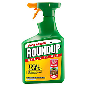 Image of Roundup Fast Action Weed Killer - 1L