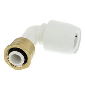 Hep2O HD27/15WS Bent Tap Connector - 1/2in x 15mm