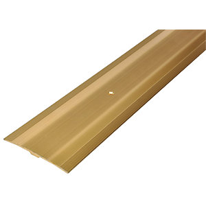 Wickes Extra Wide Carpet Cover Trim Gold Effect - 900mm