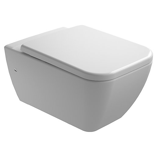 Wickes Emma Easy Clean Wall Hung Toilet Pan
