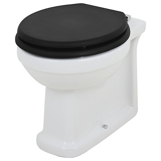Wickes Oxford Traditional Back To Wall Toilet Pan