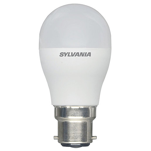 Sylvania LED Non Dimmable Frosted Mini Globe B22