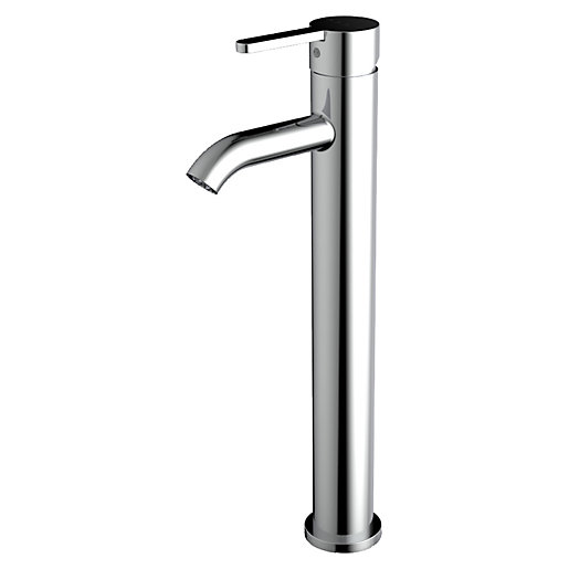 Roca Carelia High Neck Basin Mixer Tap with