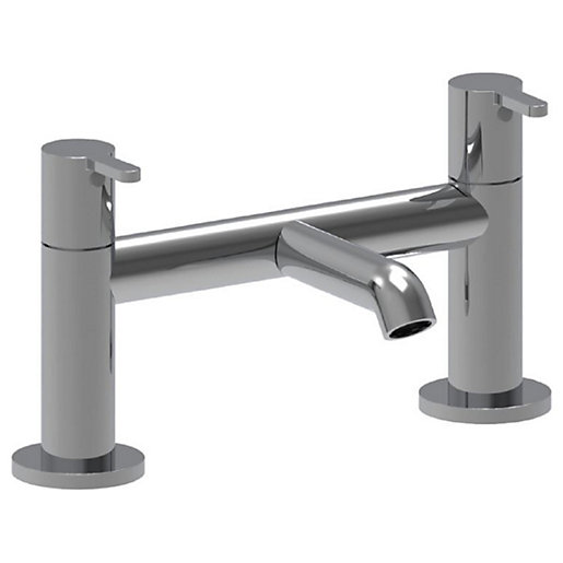Wickes Carelia Bath Filler Tap with Cold Start