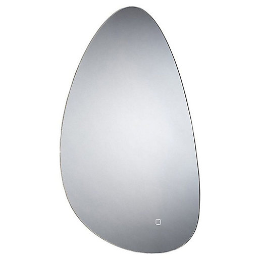 Wickes Aldemy Shaped Backlit LED Bathroom Mirror