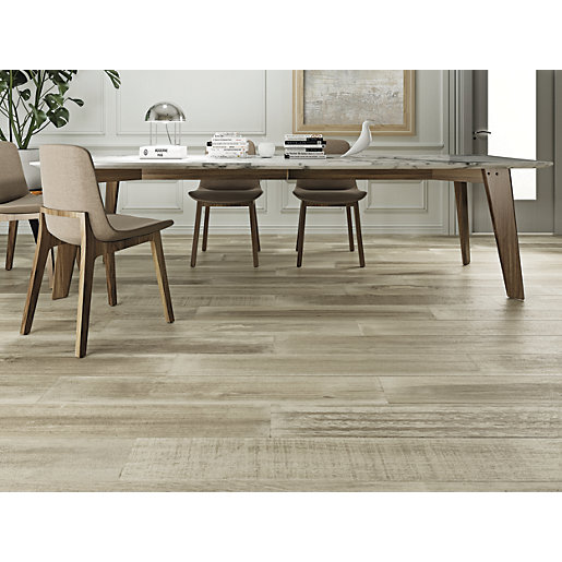 Wickes Boutique Oslo Oak Glazed Porcelain Wood Effect