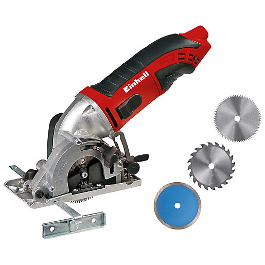 Einhell TC-CS 860 Corded Mini Circular Saw Kit