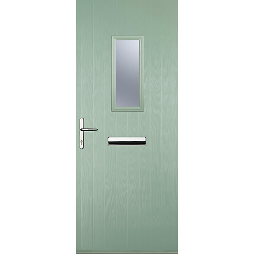 Euramax 1 Square Chartwell Green Right Hand Composite