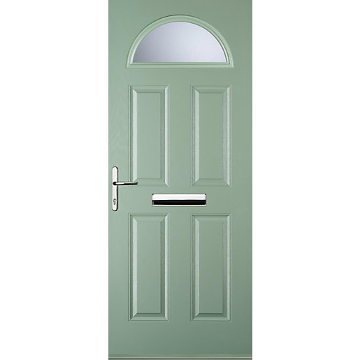 Euramax 4 Panel 1 Arch Chartwell Green Right