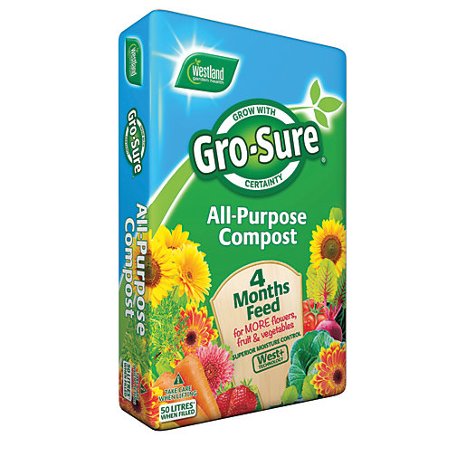 Gro-Sure All Purpose Compost & 4 Month Feed